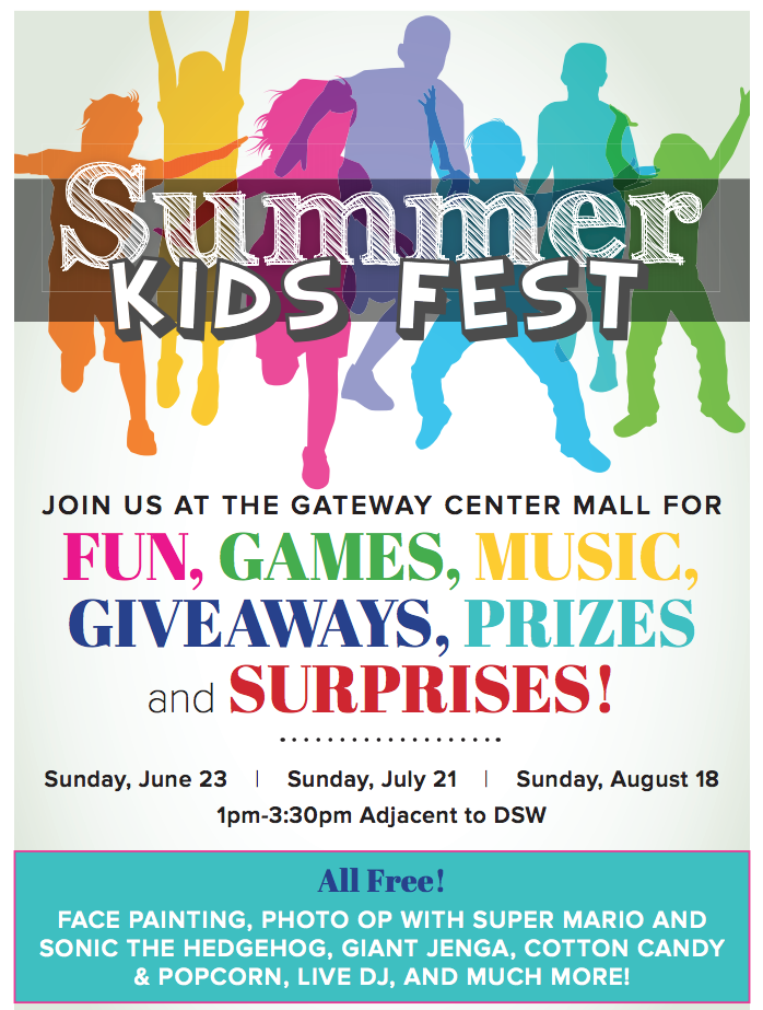 Summer_Kids-Fest - Sunday June 23, Sunday July 21, Sunday August 18